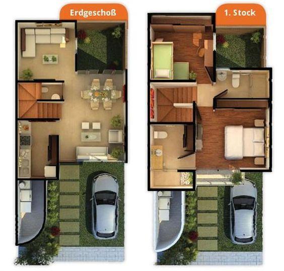 Como dise ar casas modernas con planos para descargar - Como disenar planos de casas ...