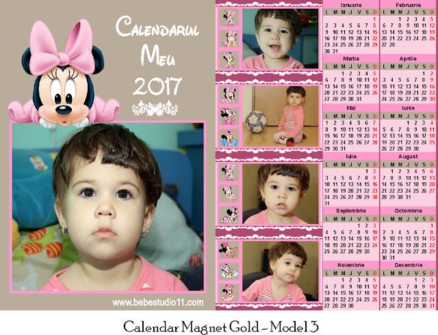 calendar magnetic GOLD