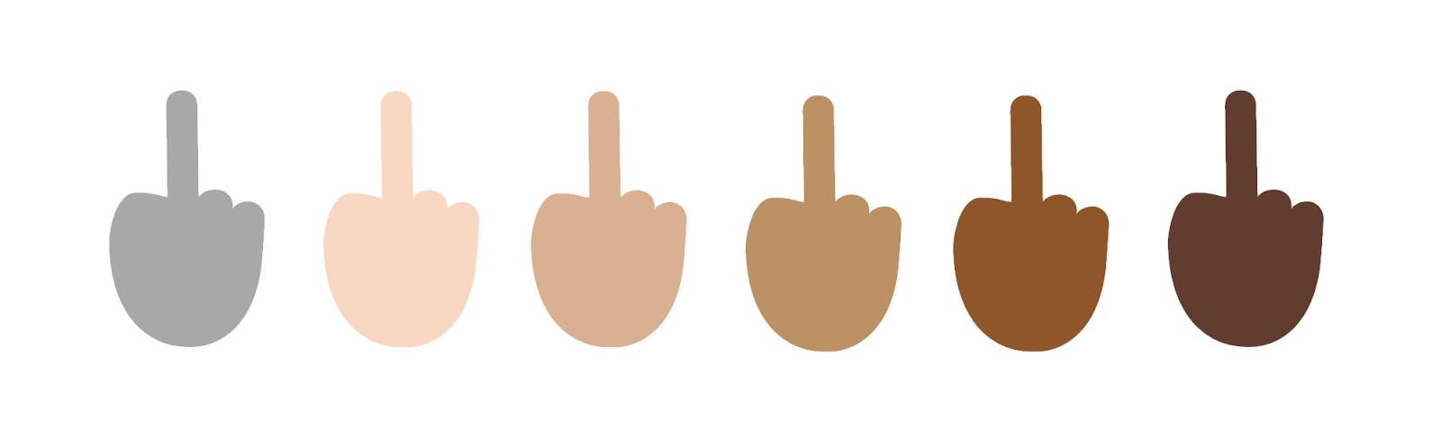 L'emoji doigt d'honneur de Microsoft sera disponible à l'été 2015