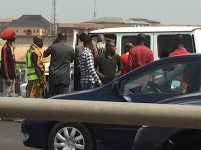 Fayose Involved In a Fatal Accident In Lagos