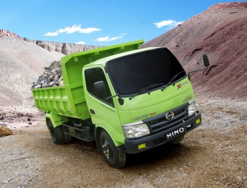 gambar dump truk hino dutro