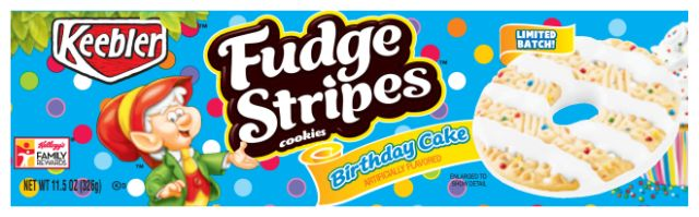 Recipe Keebler Fudge Stripes Birthday Cake 7