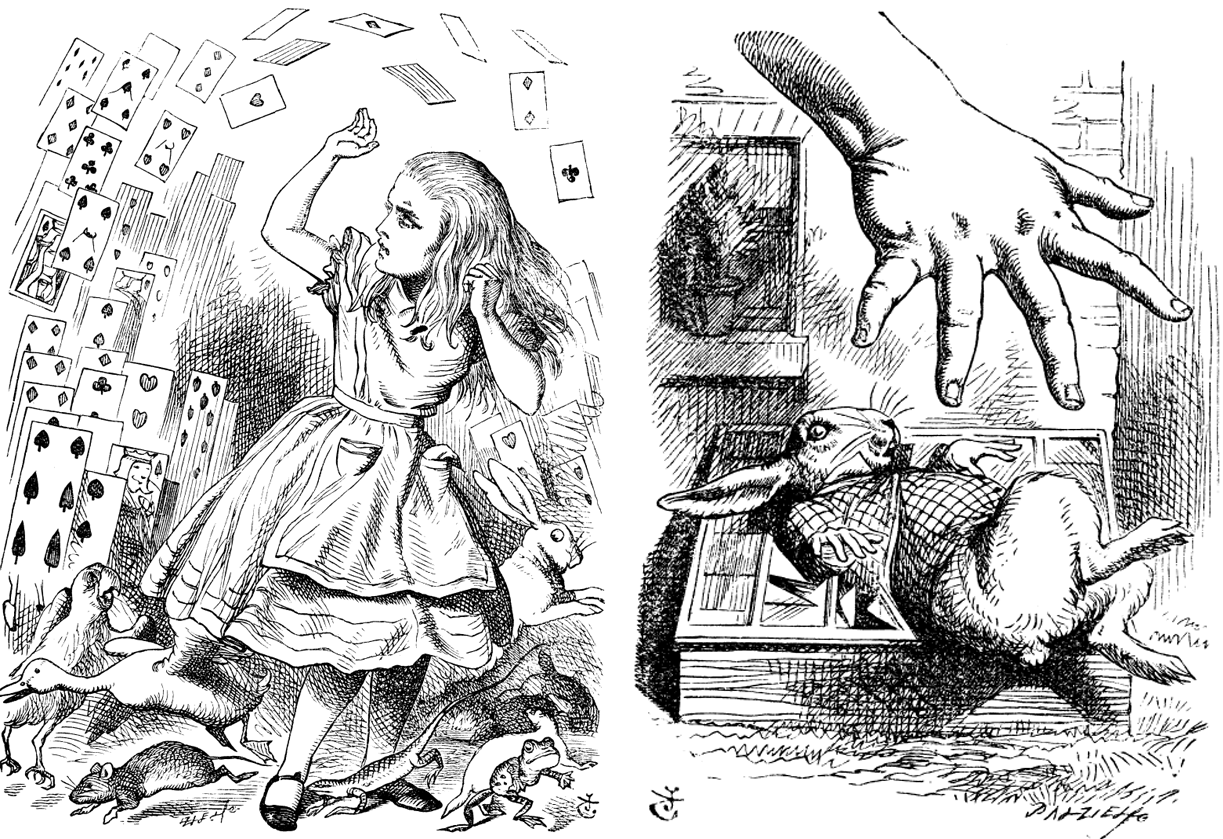 alices adventures in wonderland lewiss underground love I've loved alice's adventures in wonderland for as long as i can remember as a child i adored the magic, the adventure, and the kooky characters as an adult, i grew to love carroll's imagery, symbolism (perhaps unintentional), and his ability to turn what seems like nonsense into an enduring children's tale.