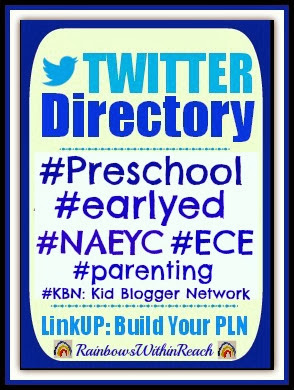Twitter Directory for Early Childhood Tweeps via RainbowsWithinReach
