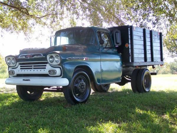 1959 chevrolet 3600 1 ton truck old truck. Black Bedroom Furniture Sets. Home Design Ideas