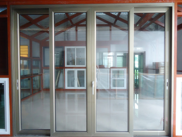 thiết kế cửa nhôm kính 4 cánh