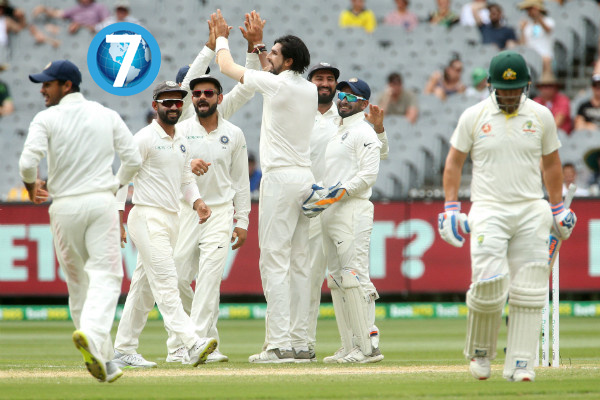 India is going to win the test match