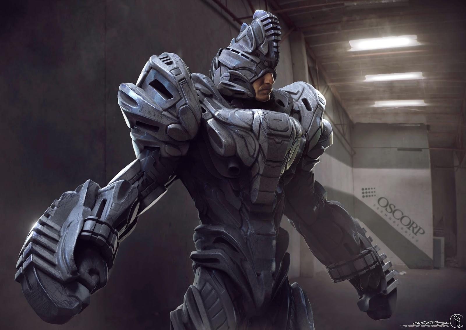 Paul Giamatti in The Rhino Suit - Amazing Spider-Man 2 ... |The Amazing Spider Man 2 Rhino Suit