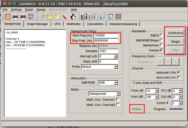 ZR6AIC: How to setup your NWT Spectrum Analyzer on Linux  (Ubuntu)