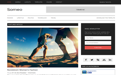 Someo Blogger Template