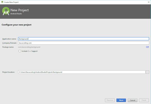 Cara Menambahkan Background di Aplikasi dengan Android Studio