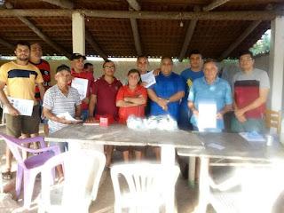 Marcos Júnior fez a doação da premiação da Copa José Flavio