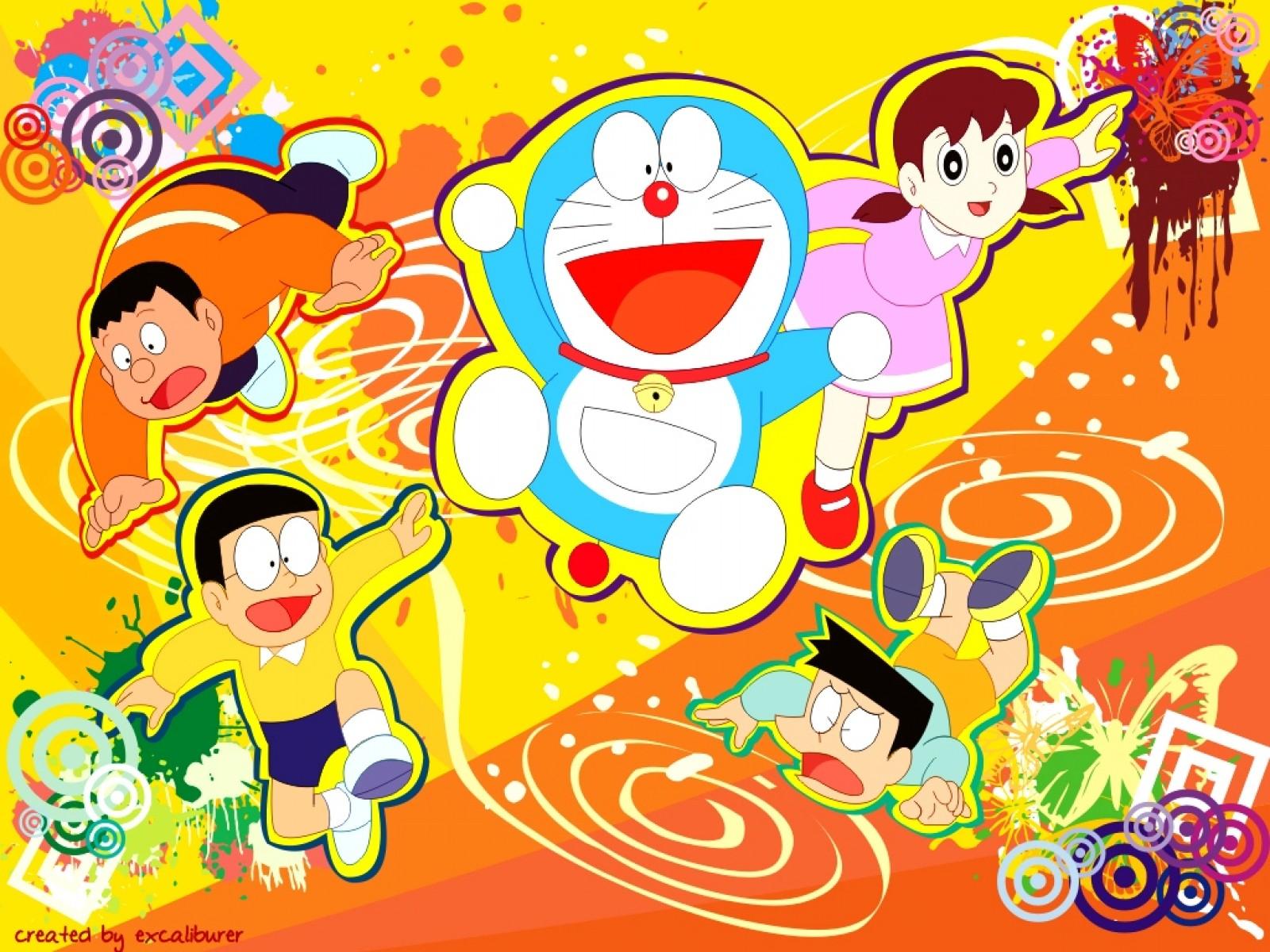Wallpaper Atau DP BBM Doraemon HD Keren Khusus Android 2015