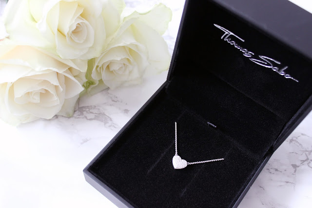 Mococo Jewellery: Thomas Sabo Silver Pave Heart Necklace | GIVEAWAY