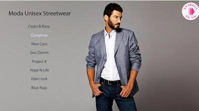 Moda unisex streetwear