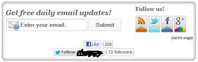 Cara Membuat Email Subscribe Di Blog.