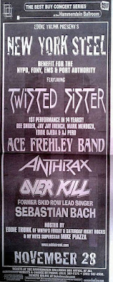 Twisted Sister... This is the show that launched the second coming of the boyz! Fuckin' awesome!!
