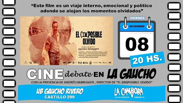 Villa Crespo: continúa ciclo de cine con la proyección de