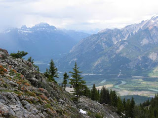Sulphur Mountain View.