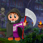 Games4King Happy Halloween Rescue Walkthrough
