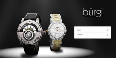 relojes pulsera baratos de la marca Bürgi