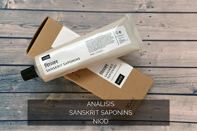 ANÁLISIS | LIMPIADORA SANSKRIT SAPONINS DE NIOD