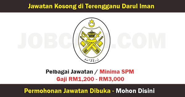 Senarai Jawatan di Terengganu