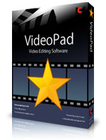 VideoPad Movie Maker Software for Windows