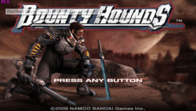 Download Bounty Hounds ISO untuk PPSSPP Android