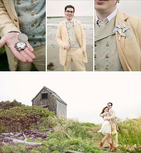Laid Back Rhode Island Wedding Lisa Keith