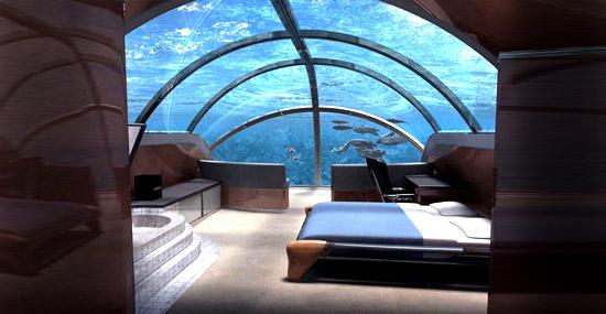 Esse fantástico hotel submarino vai te impressionar...