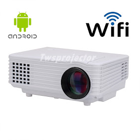 MINI PROJECTOR DS805 Android Wifi(ALL IN 1)ราคาเพียง 3,900 B