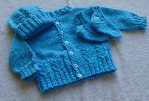 Free Knitting Pattern For Owl Sweater : Cozys Corner: Little Owl Variation