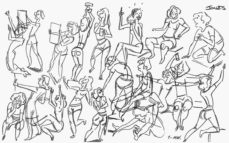 Matt Jones: Gesture Drawing Class