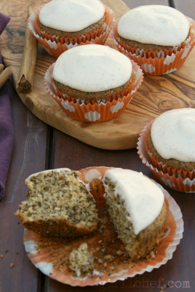 Chia Cupcakes {The New Southwest #CookbookSpotlight} | www.girlichef.com