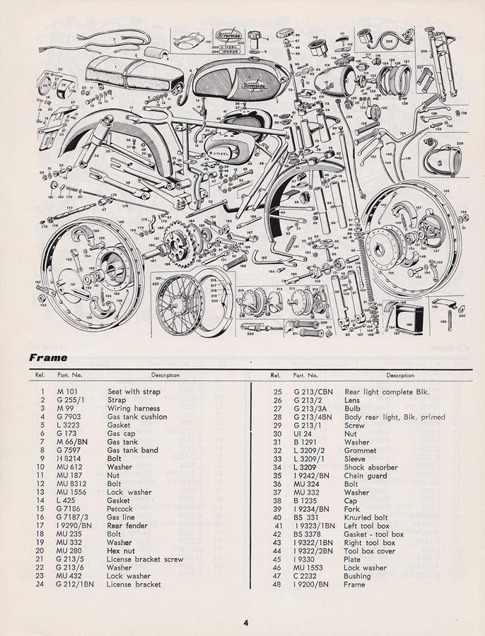BZ's BMW Isetta 300's: Benelli Cobra 125 Parts Manual