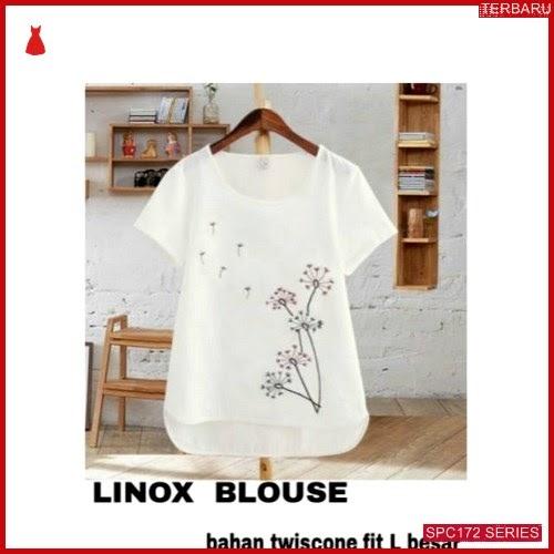 SPC172L29 Linox Blouse Terbaru Atasan Wanita   BMGShop