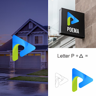 alternatif desain logo poema perusahaan property