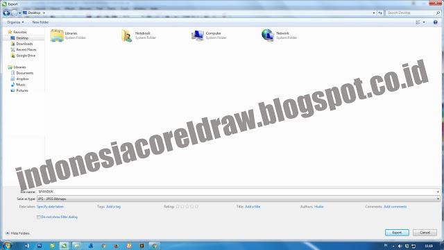 Cara Mengubah Format Corel Draw Menjadi Jpg atau Png