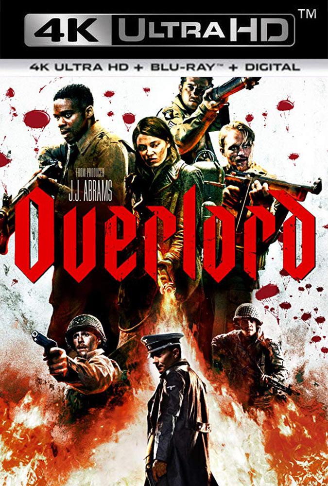 Operación Overlord (2018) 4K UHD HDR Latino