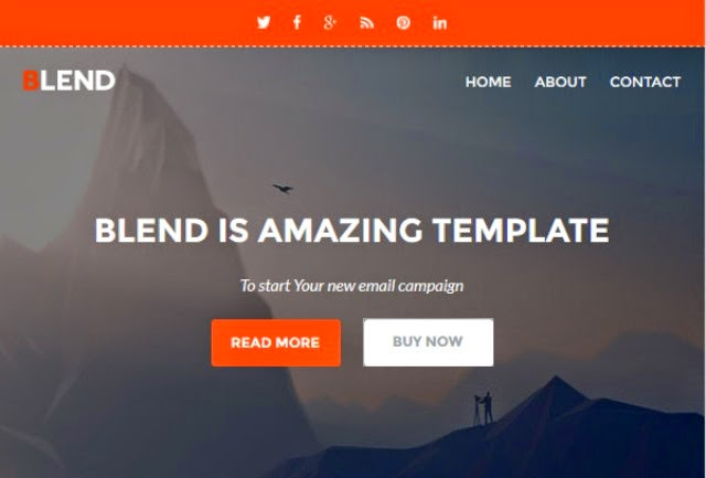 Blend - Responsive Email w/Builder Access