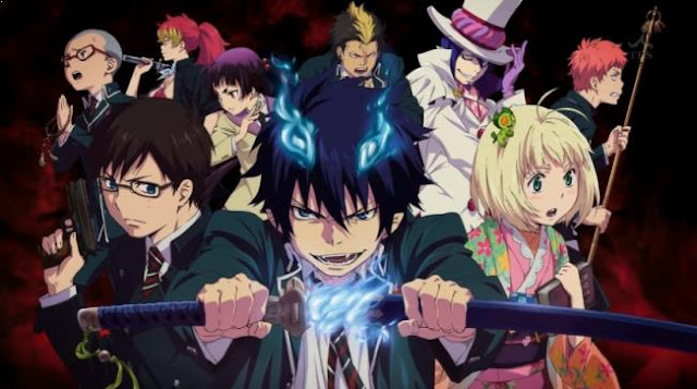 Blue Exorcist (Ao no Exorcist) - Top Best anime by A-1 Pictures List