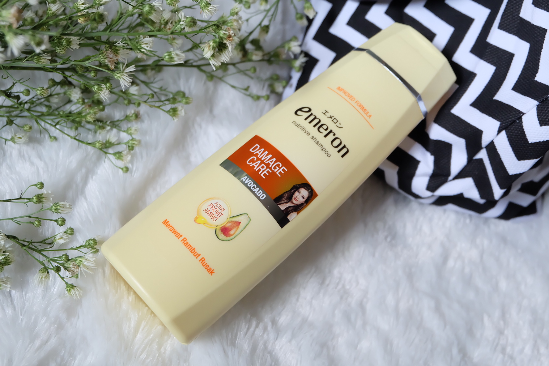 [Review] Emeron Complete Hair Damage Care (Shampoo, Hair Vitamin and Conditioner)