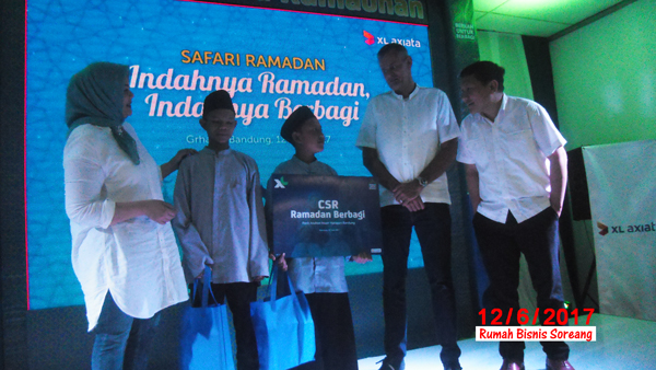 CSR Ramadan Berbagi (Senin, 12/62017) di Grha XL Martadinata Bandung