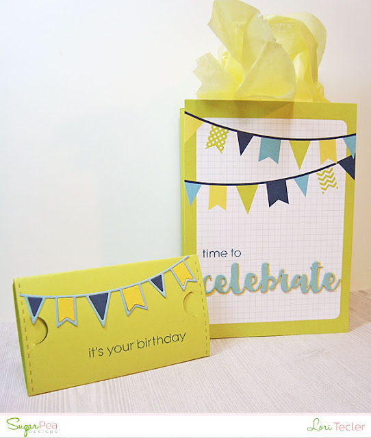 Time to Celebrate Gift Set-designed by Lori Tecler/Inking Aloud-stamps and dies from SugarPea Designs