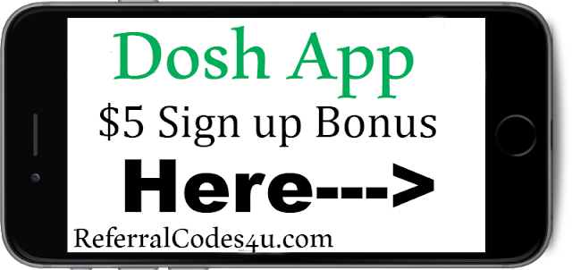 Get a $5 sign up bonus when you start using the Dosh Cash Back App today!