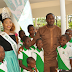 Emeka Ike Spotted With Miss Tourism International 2015 As They Visit School Students In Aso Villa