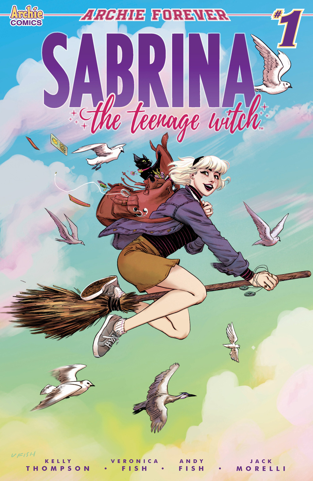 PRE-ORDER: 'Sabrina the Teenage Witch' #1 (of 5) by Kelly Thompson,  Veronica Fish, and Andy Fish