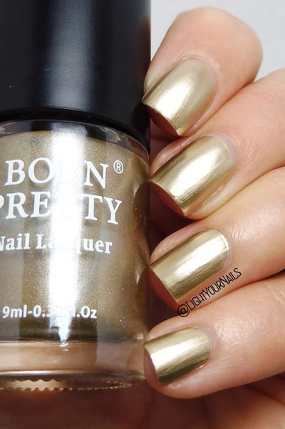 Smalto oro metallico Bornpretty Metallic B503 Dragon Knight gold nail polish