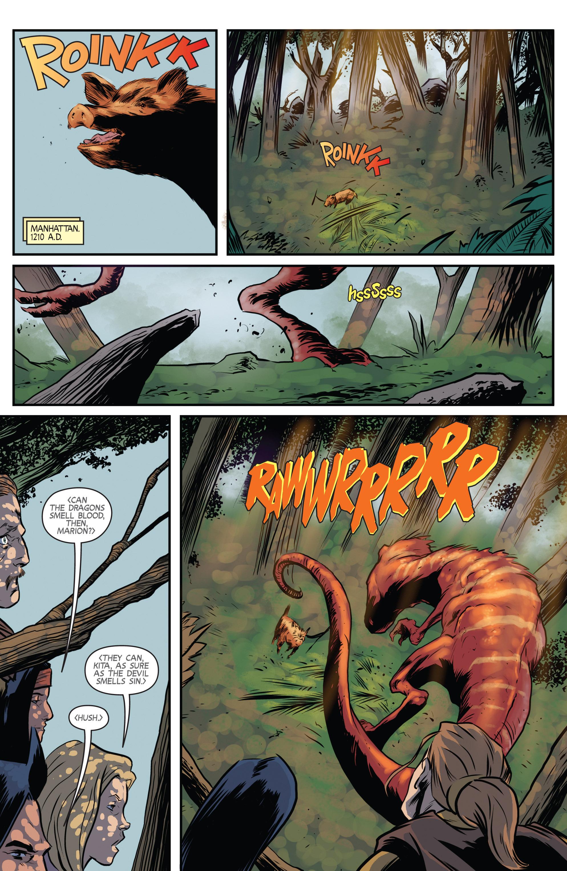 Read online Turok: Dinosaur Hunter (2014) comic -  Issue # _TPB 3 - 5